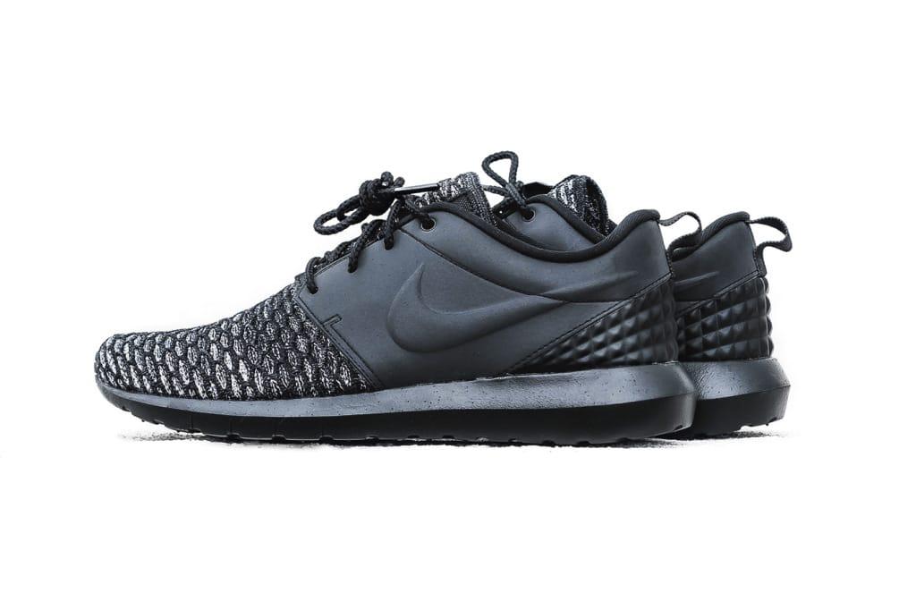 Nike Roshe Flyknit PRM Black Sneaker