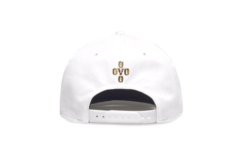 36827b28b3c OVO and Jordan Brand Have Collaborated on a Snapback. It s white and gold