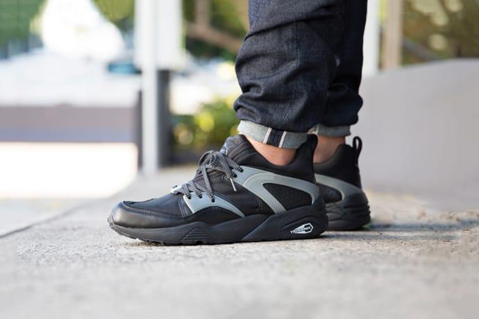 PUMA Blaze of Glory Black Grey Sneaker