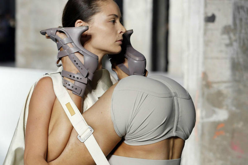 Rick Owens on the Inspiration Behind His Human Backpacks