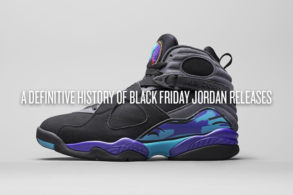 Black Friday Air Jordan Releases