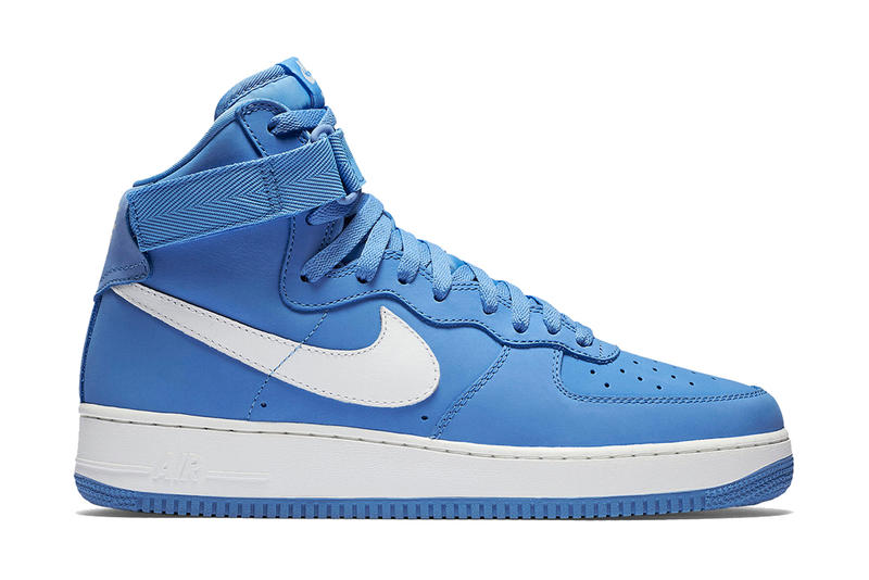 new concept 3885c a3485 Nike Air Force 1 High Baby Blue | HYPEBEAST