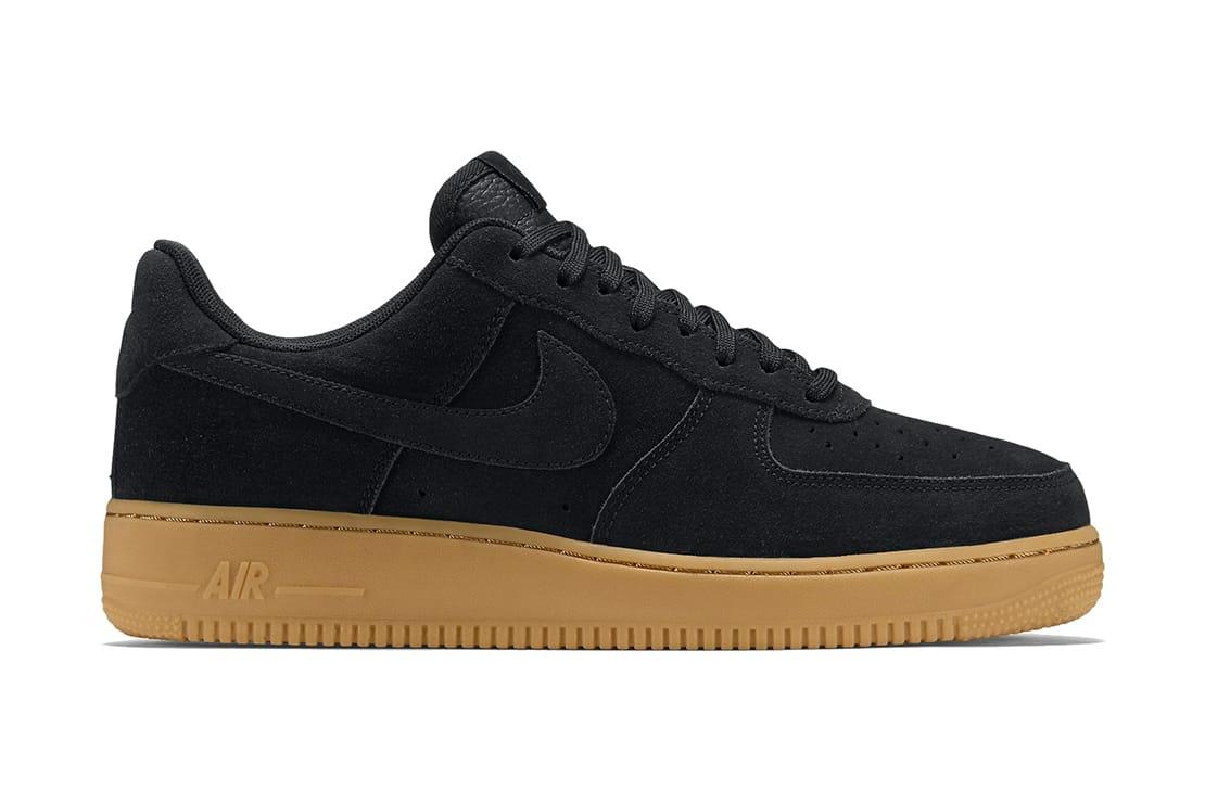 Nike Air Force 1 Low Black Gum | HYPEBEAST
