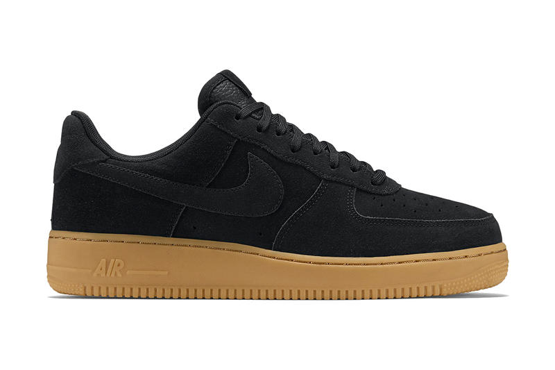 Nike Air Force 1 Low Black Gum. Black suede 1cba33166