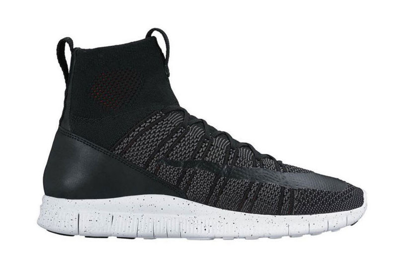 Nike Free Flyknit Mercurial Black and