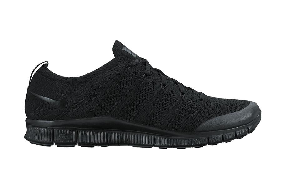 e306047250a Nike Free Flyknit NSW Triple Black