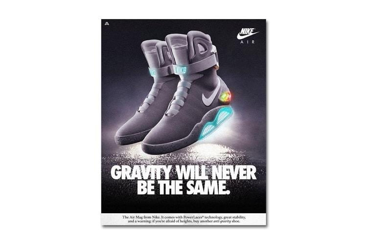 huge selection of b3db1 1d2e1 Modern Nike Shoes Reimagined in Vintage Ads