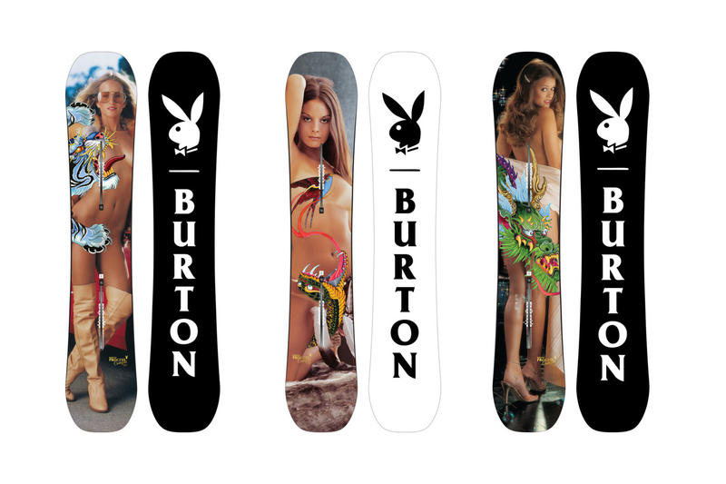 25118599ecc Playboy Burton Snowboard Collaboration