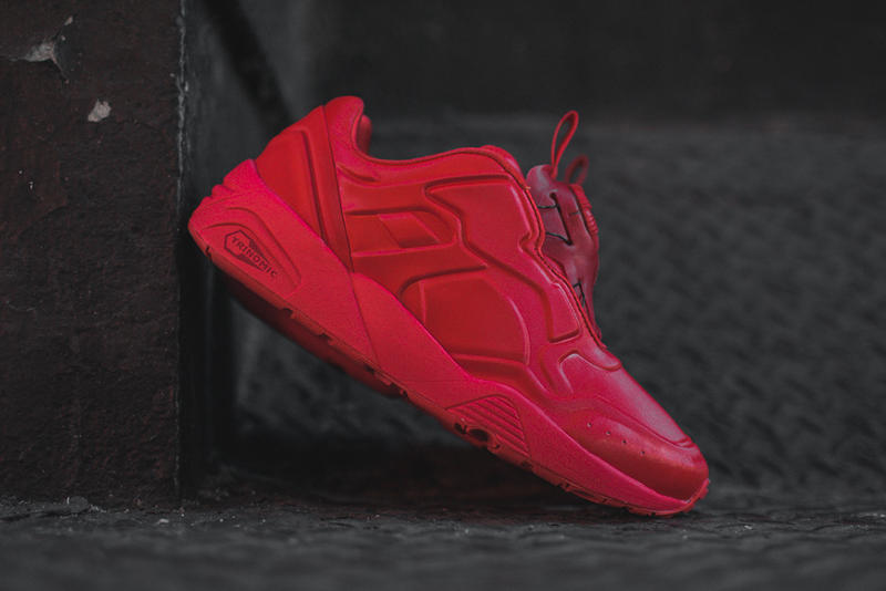 3a98fb6e457 The PUMA Disc  89 is Available in a Trio of Tonal Colorways. Seamless  simplicity. 1 of 3. 2 of 3. 3 of 3