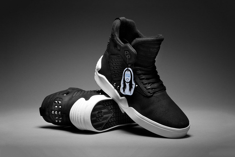 43f827df4cfd SUPRA Taps World Famous DJ Steve Aoki for a Limited Edition Skytop IV