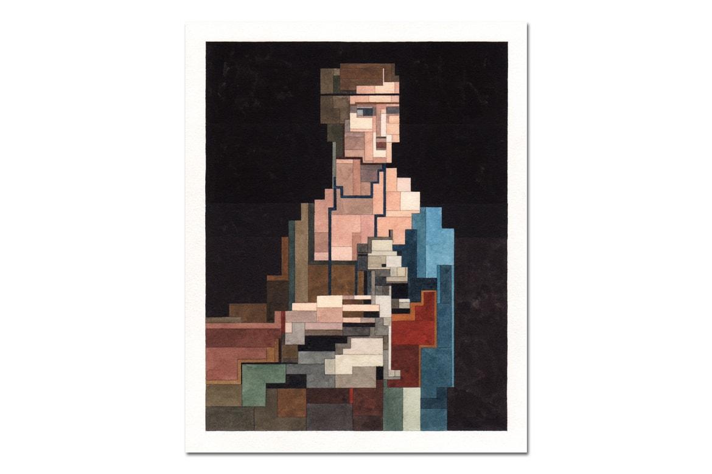 Adam Lister Art History Pixelated Paintings Hypebeast