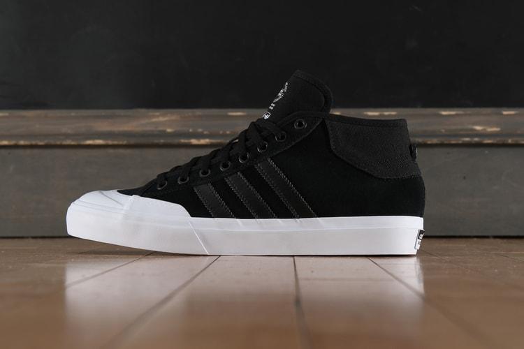 3fadd624b7149f adidas Transforms the Nizza Into the Skate-Ready Matchcourt Mid. Footwear
