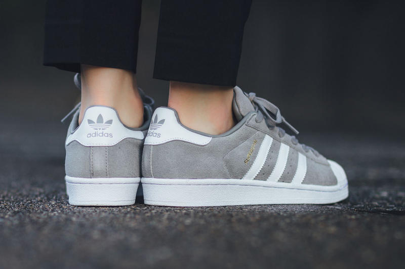 detailed look fashion style new concept adidas Superstar Suede Solid Grey Sneaker | HYPEBEAST