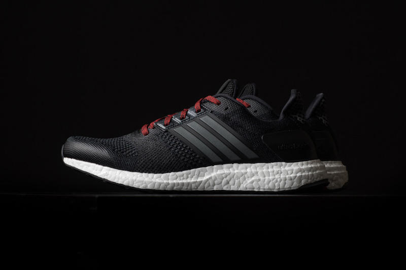 811b3a59d3da adidas Ultra Boost ST Black Iron Red. A brand new colorway for adidas  more  stable Ultra Boost.