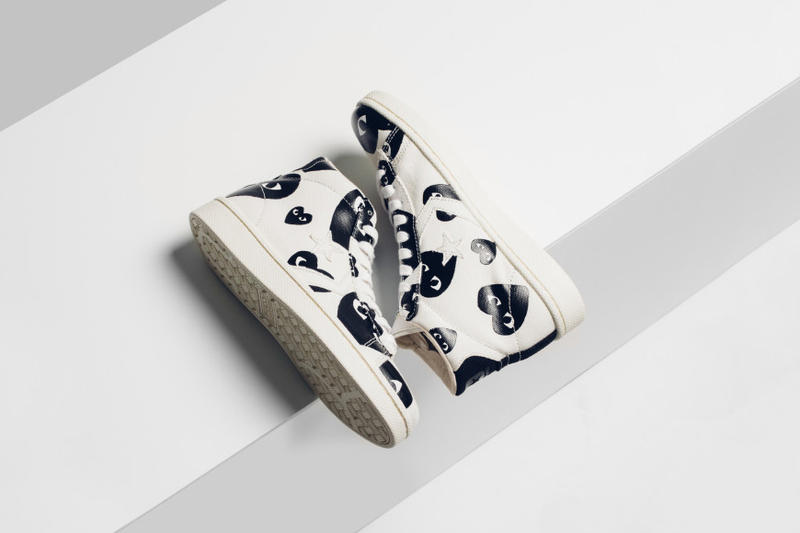 7f802722be2a Comme des Garcons PLAY Converse