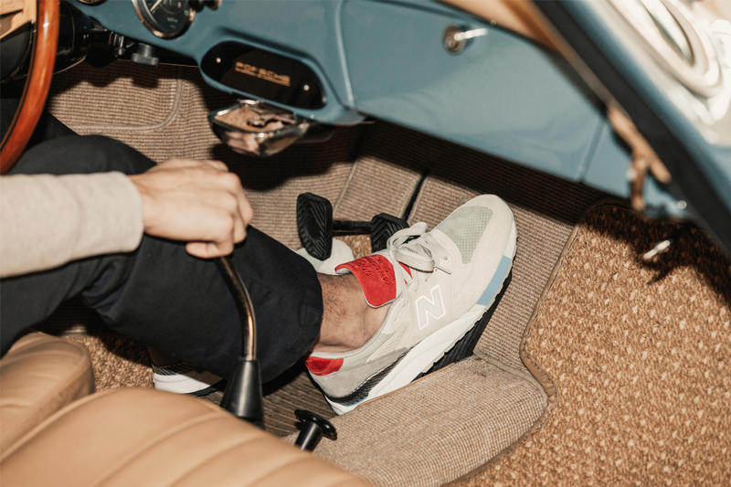 huge selection of 87773 b0302 Concepts New Balance 998 Grand Tourer Closer Look | HYPEBEAST
