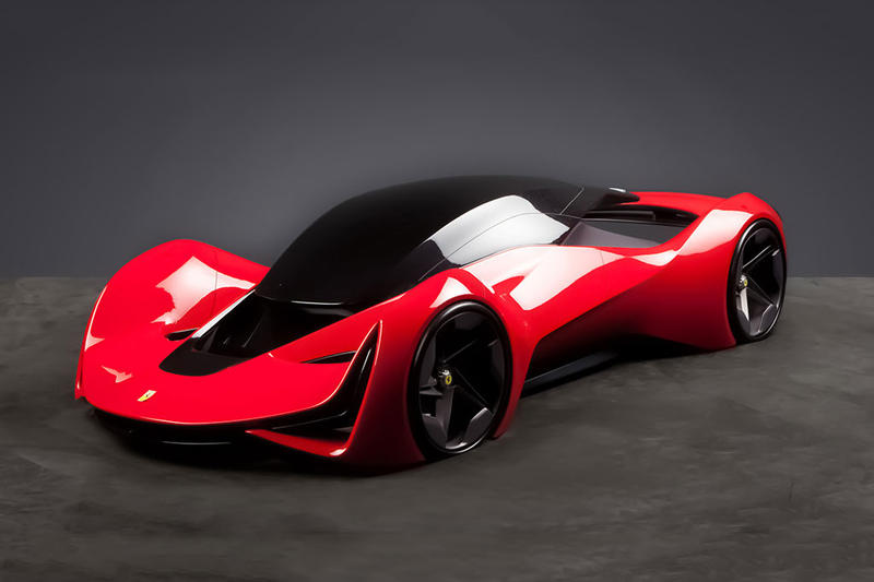 Ferrari Design School Challenge Looks at Supercars of the Future
