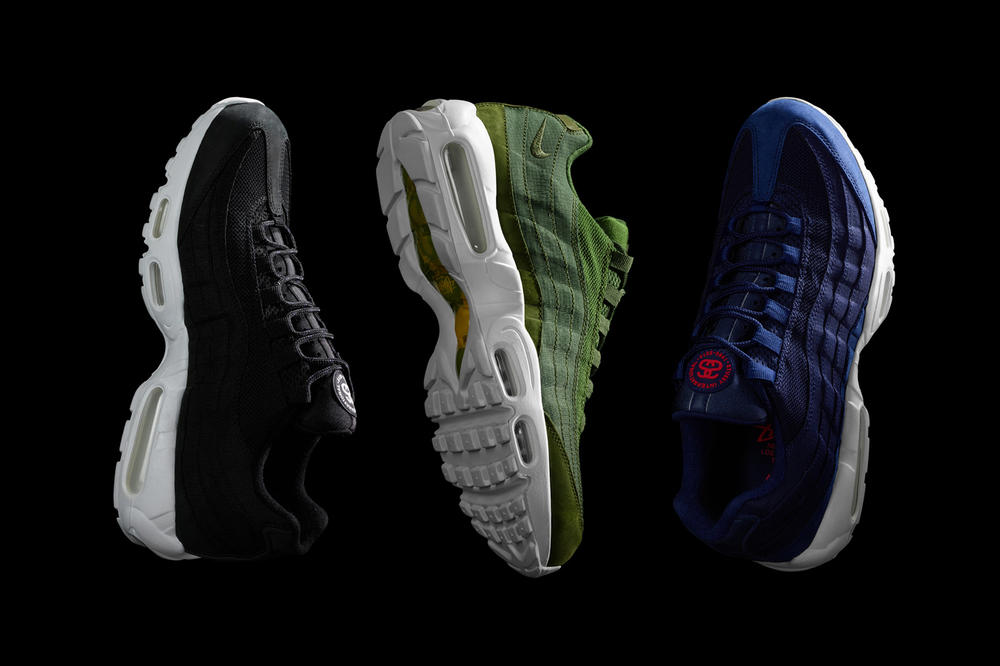 Stussy Presents a Clear Teaser Image of Its Upcoming Air Max 95
