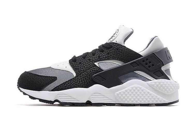 Nike Air Huarache Black White Dark Grey