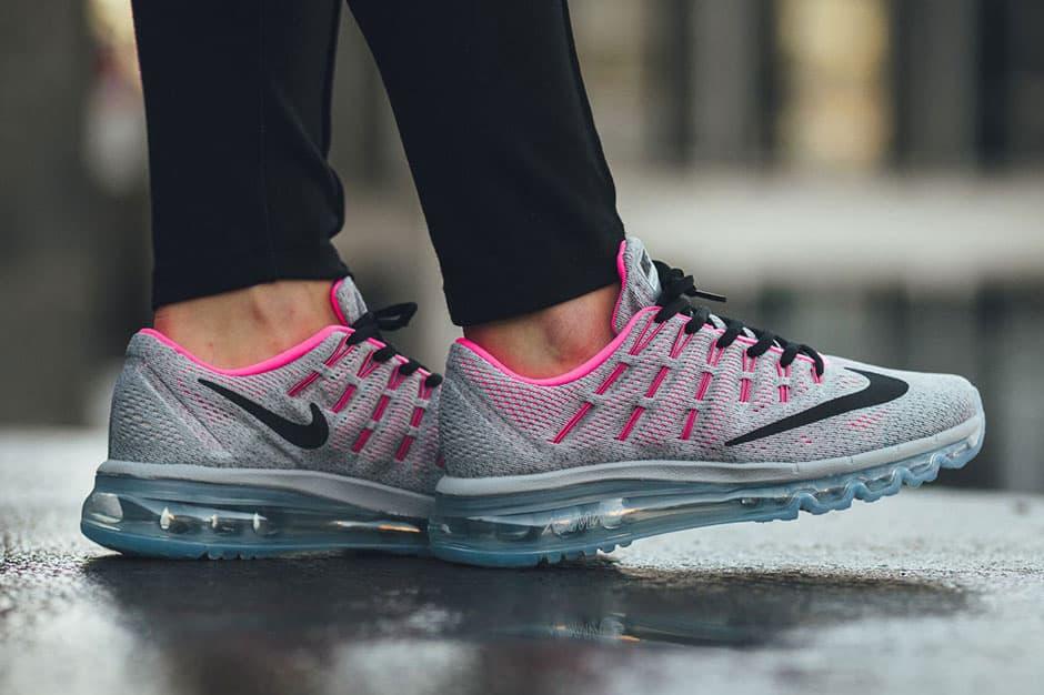 "Nike Air Max 2016 GS ""Wolf Gray/Hyper Pink"""