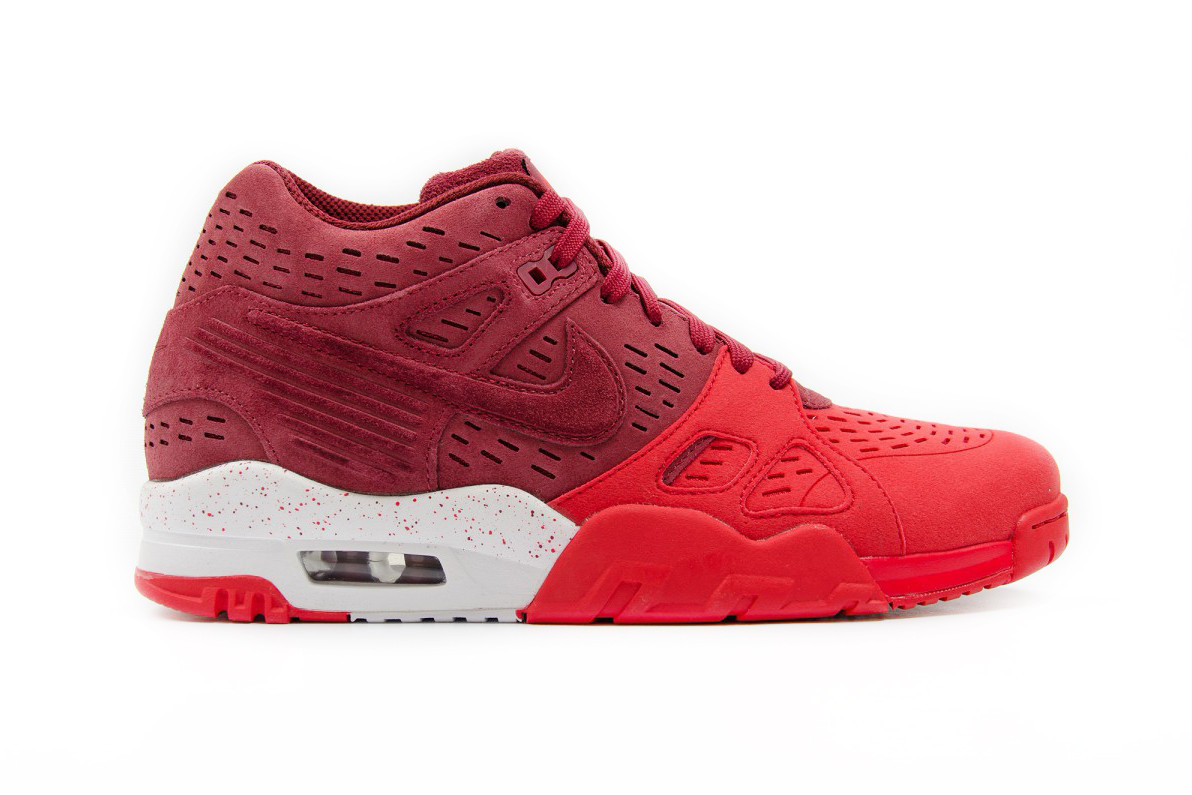 Nike Air Trainer 3 LE Maroon and Gray
