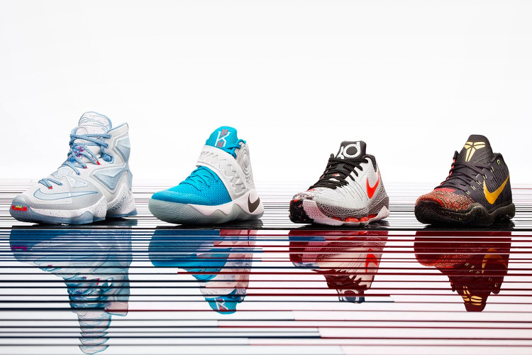 the latest a74b8 46a57 Nike Basketball Unveils Its 2015 Christmas Collection