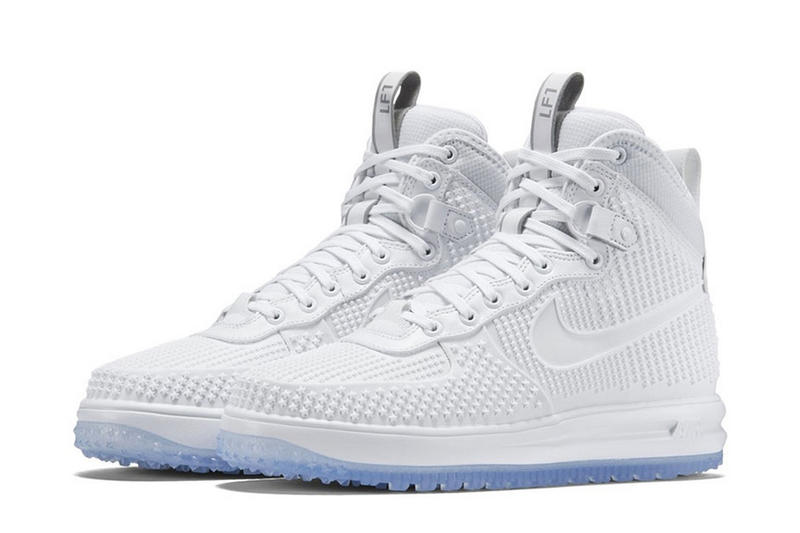 sale retailer 66115 e4f39 Nike s Lunar Force 1 Duckboot in White Is up Next. Matching the snow you  trek through.