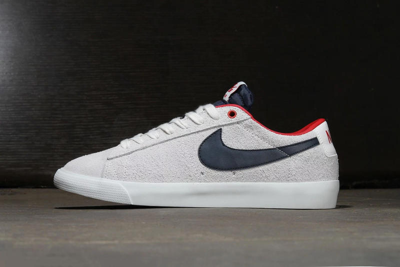 e96fbd23c2cd Nike SB Blazer Low GT Summit White Obsidian University Red