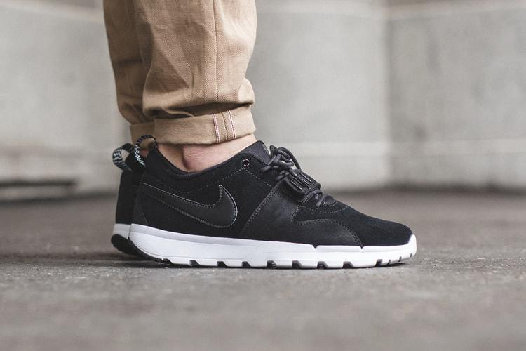 size 40 76241 ca8e4 Nike SB Trainerendor Black Black-White