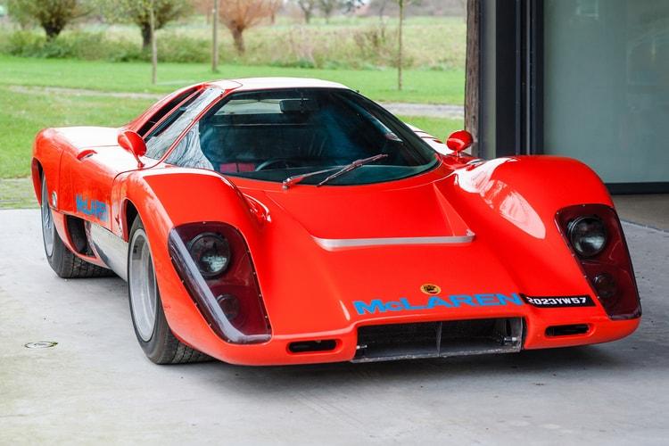 414ddf8a35 Rare 1969 McLaren M12 Coupe up for Auction