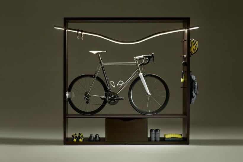 The Vadolibero Bike Shelf Is the Most Stylish Way to Store Your Bike