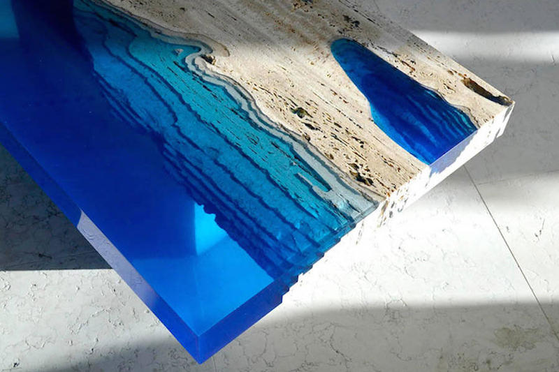 These Lagoon Tables Put the Depths of the Ocean Into Your Home