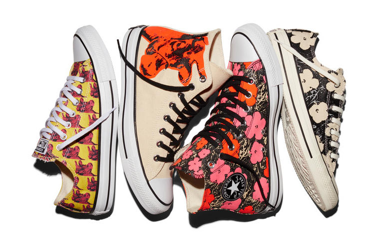 4a6f7aeca84dfc Andy Warhol x Converse Chuck Taylor All Star 2016 Spring Collection ...