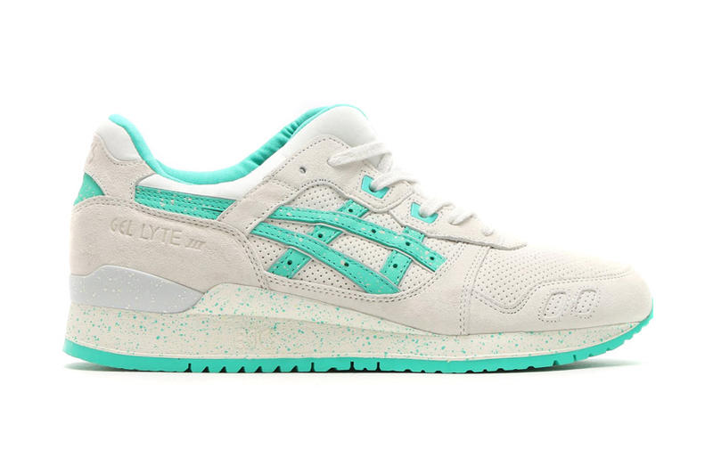 finest selection 86a1f 8bbb3 ASICS GEL Lyte III White Aqua Green | HYPEBEAST