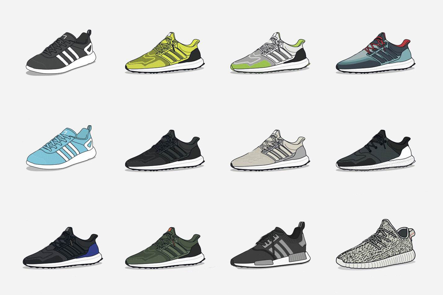 The Most Hyped Boost Sneakers of 2015