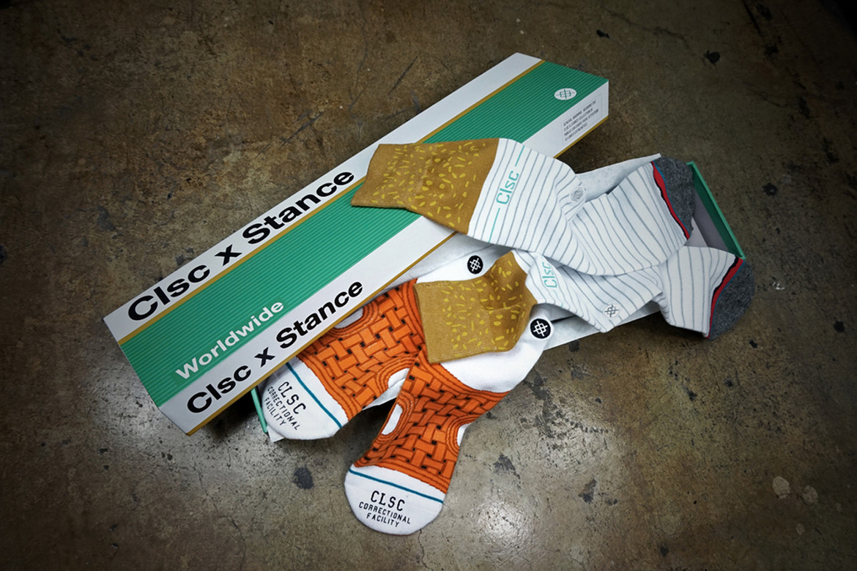 CLSC Stance Socks Prison Collaboration | HYPEBEAST