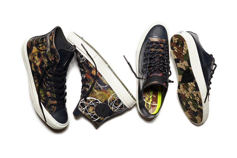 Futura Lends His Distinct Graphics to the Converse Chuck Taylor All Star II 300bf0c72