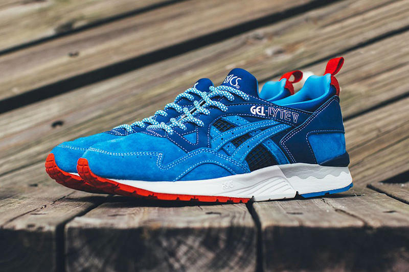 promo code c2878 d1553 mita sneakers x ASICS Tiger GEL-Lyte V Trico Closer Look ...