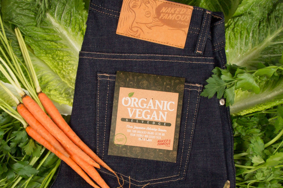 Naked & Famous Organic Vegan Selvedge Denim Is Completely Guilt-Free