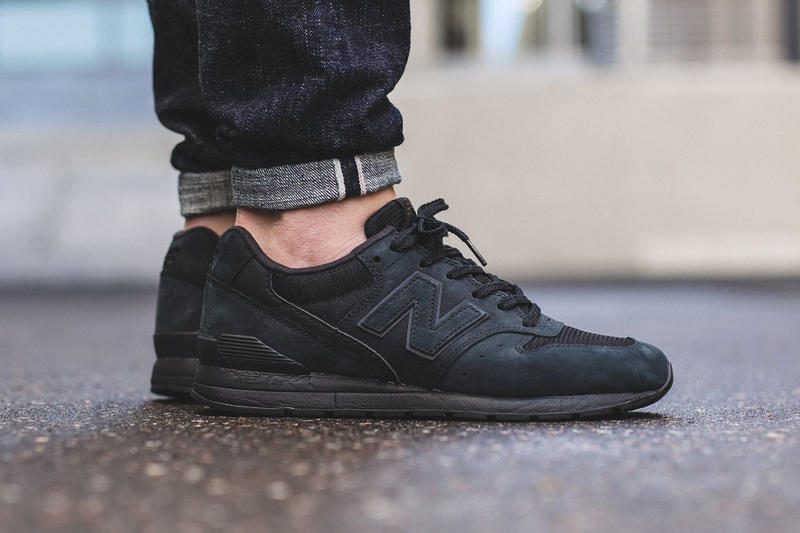 08546161d12f2 New Balance MRL996KP. Can t go wrong with all black.