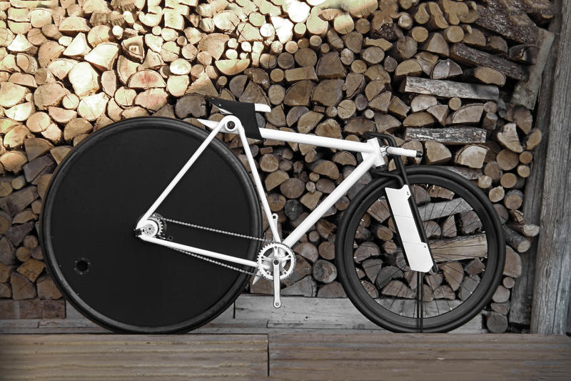 New Bicycle Prototype Challenges Wheel-Ratio Ergonomic Design