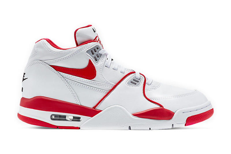 372f265f5fcc Nike Air Flight  89 White Red. Taking a trip back to the good old days.