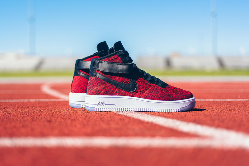 new product 574cd 6c42f Nike Air Force 1 High Flyknit