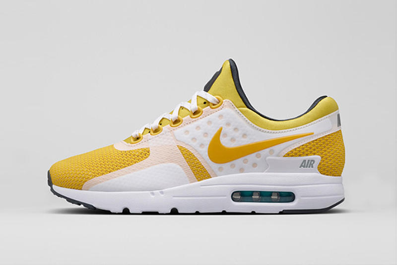 size 40 28be3 b85ad Nike Air Max Zero Yellow Sneaker | HYPEBEAST