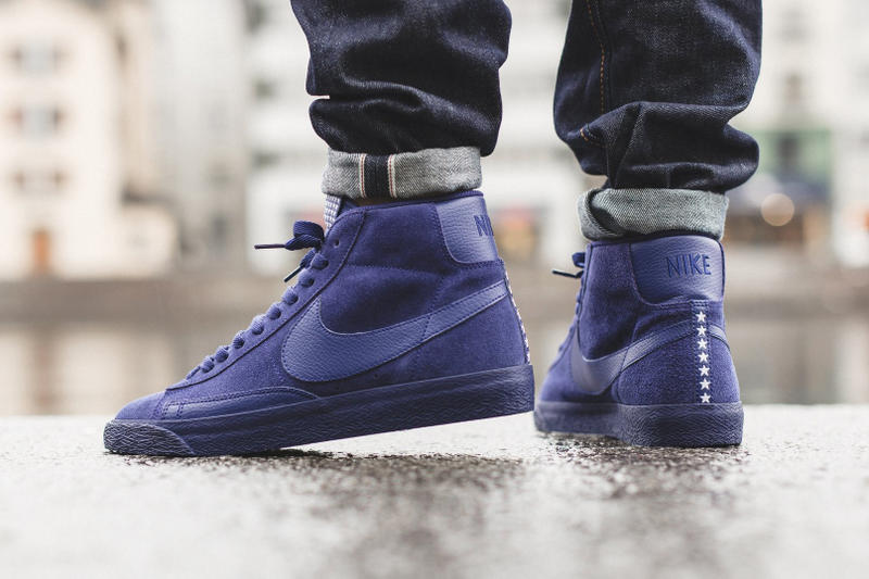 size 40 06c1c ef1a5 Nike Blazer Mid PRM VNTG Loyal Blue Sneaker | HYPEBEAST