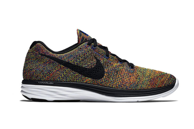 add2f143c6c Nike Flyknit Lunar 3 in Multicolor
