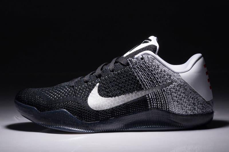 61231f6854d8 A Closer Look at the Nike Kobe 11 Black White