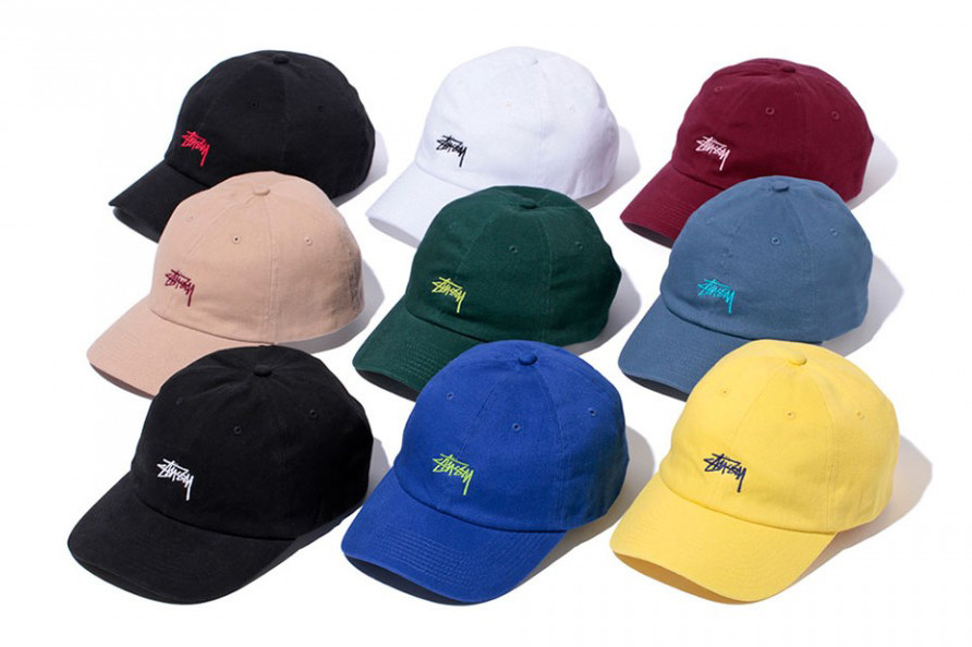 Stussy 2016 Spring Logo Strapback Caps  18316596668