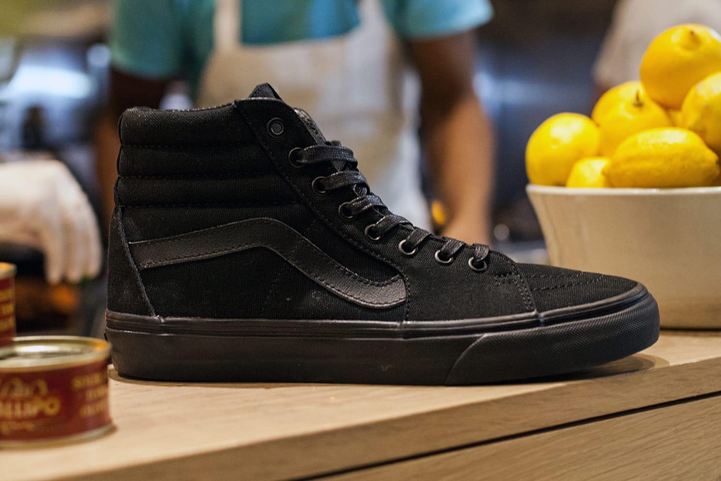 vans chef shoes