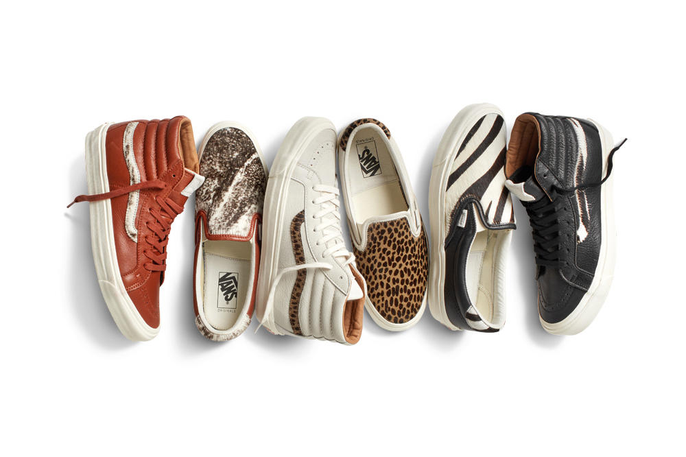 Vault by Vans Goes Wild for Its Spring Collection